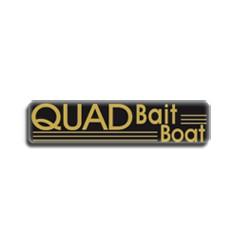 X 2 caches hélices kompact quad bait boat