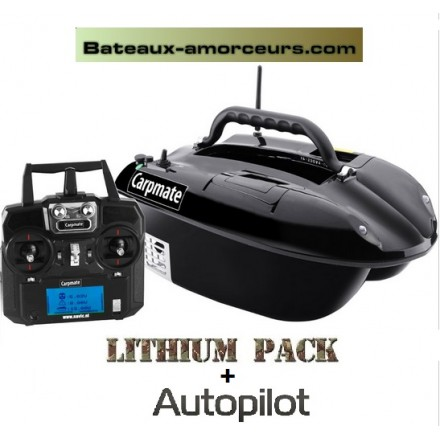 Carpmate boat PRO lithium + autopilote GPS