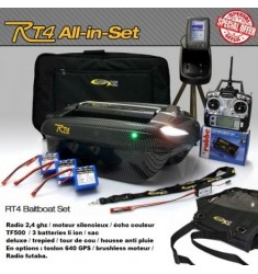 bateau amorceur RT4 pack avec TF500 all in set