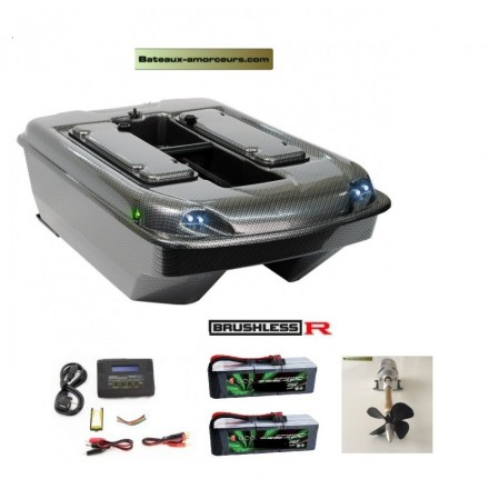 Bait boat Catamaran tackle Brushless R