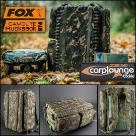 FOX camolite RT4 Rucksack + housse bateau et tablette