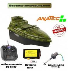 Monocoque anatec OAK moteur brushless S + radiocommande DE-SR07