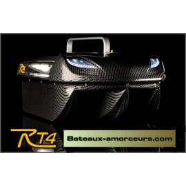 RT4 avec radio standard + recepteur 500 mètres + moteurs brushless + X 2 batteries 8,7ah + sac de transport