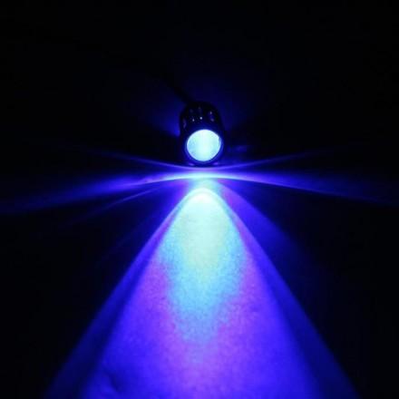 X 1 led bleu 10 mm tension max 13V