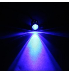 X 1 led bleu 10 mm tension max 13V