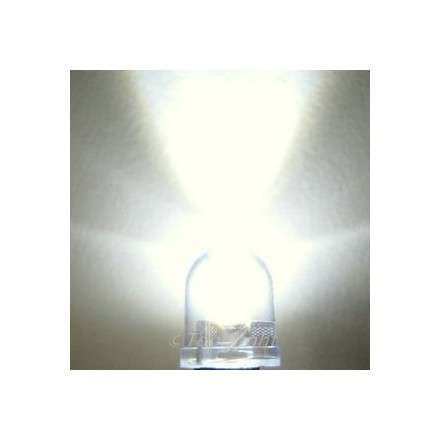 X 1 led blanche 10 mm tension max 13V