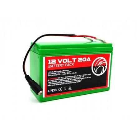 Batterie lithium 20ah pour quad bait boat et bateau en 12V