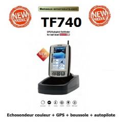 TF740 toslon echosondeur GPS autopilote MODELE D'EXPOSITION