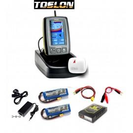 Echosondeur couleur TF640 avec GPS intégré