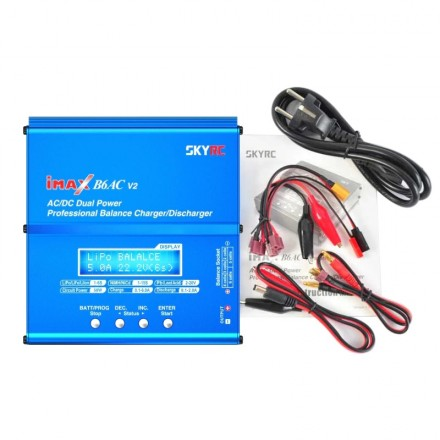 Chargeur lithium intelligent pour toslon xboat 12V/220V
