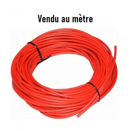 Cable silicone rouge pour batterie et cablage brushless 14AWG