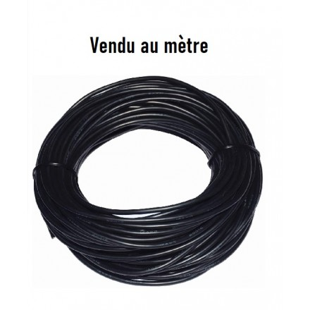 Cable silicone noir pour batterie et cablage brushless 14AWG