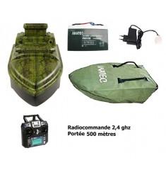 Anatec monocoque oak 6V 12AH + sac + radio 2,4 ghz longue portée