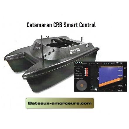 Anatec catamaran CRB Smart Control sondeur et GPS
