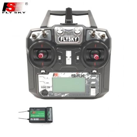 Radiocommande 6 voies flysky avec recepteur 6 voies