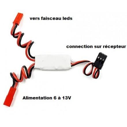 Switch interrupteur à distance pour leds