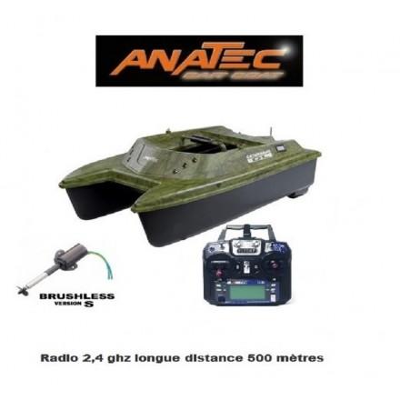 Anatec catamaran bateau amorceur OAK devo 7