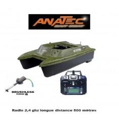 Anatec catamaran bateau amorceur Brushless S lithium 12ah