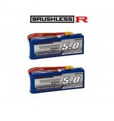 Batteries pour catamaran tackle version S par 2