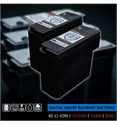 Digital Smart Baitboat Batterie Ultra Hi-C 4S I 15aH I BMS pour RT4 V4