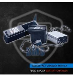 Chargeur rapide SMART 5A pour batteries Smart PWR