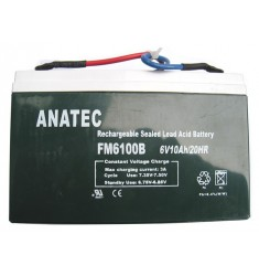 batterie anatec 6V 10 ah