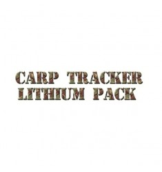X 2 batteries lithium pour carp tracker