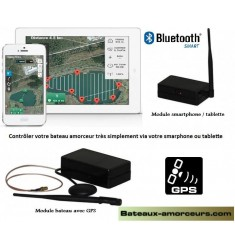 Système Autopilote GPS pour bateaux amorceurs toutes marques