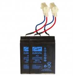 batterie 6V 4,5 Ah