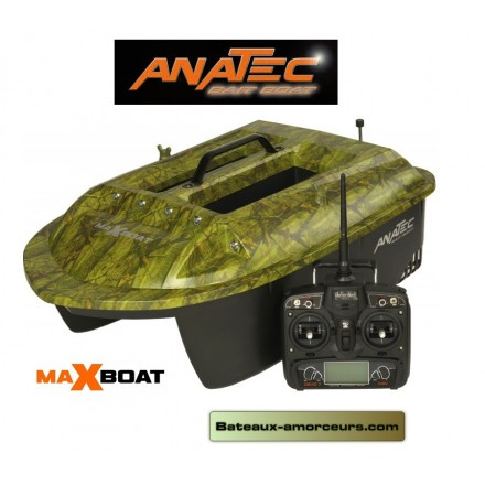 Bateau amorceur MAXBOAT anatec batteries lithium devo 7