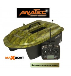 Bateau amorceur MAXBOAT anatec batteries lithium devo7