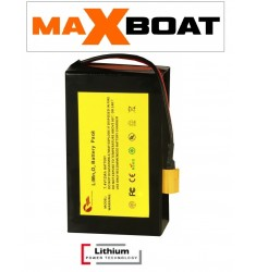 Batterie lithium 12ah pour anatec maxboat