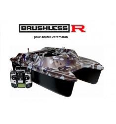 Kit moteur brushless R pour anatec catamaran