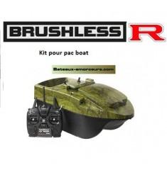 Kit moteur brushless R pour anatec pac boat