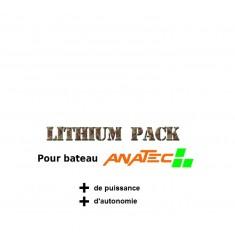 Pack batteries lipo pour anatec monocoque