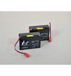 X 2 Batteries Bateaux Amorceur CDE Voyager/ carpio /smart bait boat