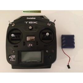 Kit batterie pour futaba T6J et T6K avec chargeur
