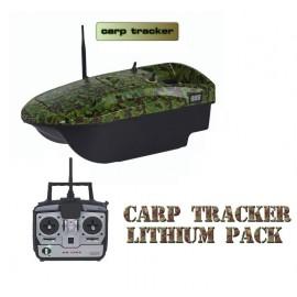 carp tracker lithium version bateau amorceur lipo