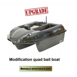 Upgrade modification éléctronique quad bait boat