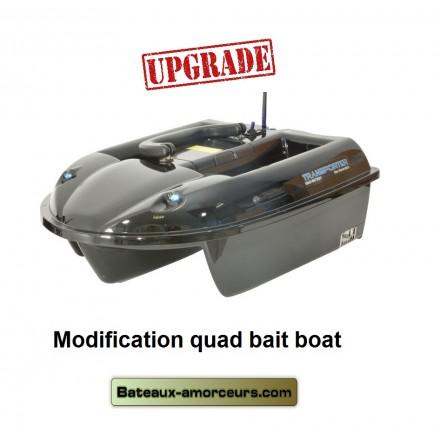 Upgrade modification éléctronique quad bait boat