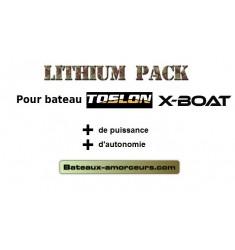 Batteries toslon x boat lithium 10ah