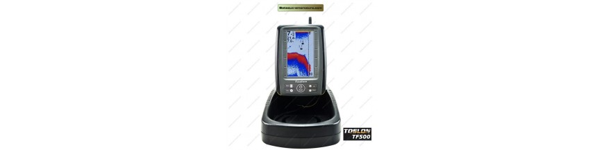 Fish finder and GPS bait boat
