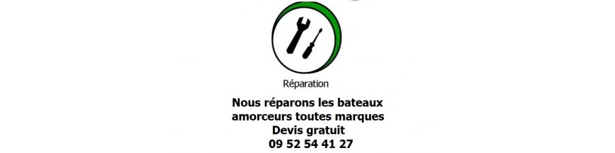 Entretien/réparation & modification bateaux amorceur