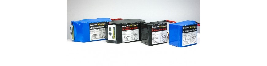 Batteries et chargeur rt4